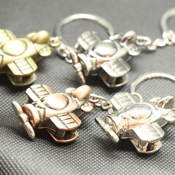 Free Engraving,Aircraft keychain,keychain