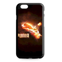 Puma Logo Fire iPhone 6 Case