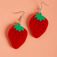 Collectif Berry on Top Earrings