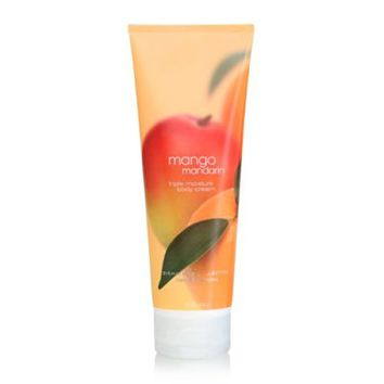Bath Body Works Mango Mandarin 8.0 oz Triple Moisture Body Cream