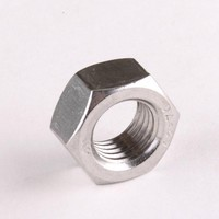 50PCS 304 Stainless Steel Hex Nuts Hexagon Nuts M5 DIN934