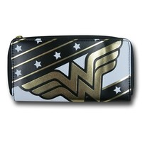 Wonder Woman Symbol Women's Zip Wallet