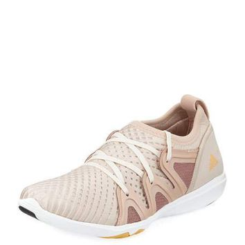adidas by Stella McCartney CrazyMove Pro Mid-Top Fabric Trainer Sneaker, Rose