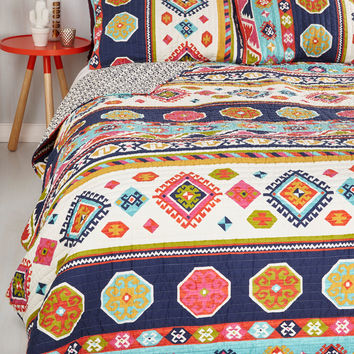 It'd be My Desert Quilt Set in Full/Queen | Mod Retro Vintage Decor Accessories | ModCloth.com