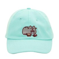 Pusheen Eating Mint Dad Hat