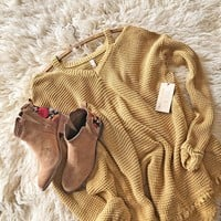 Rusted Rose Thermal in Mustard
