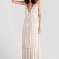 Cosette Crochet Maxi Dress