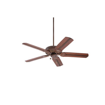 Emerson Fans BKIT-CF4501GBZ-B105HCB Crown Select Gilded Bronze 54-Inch Ceiling Fan with Beaded Hand Carved Wood Blades