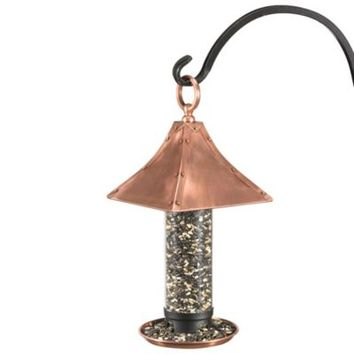 Good Directions Palazzo Bird Feeder in Copper Finish