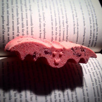 Erzsébet (Elizabeth) Báthory Blood Red Rose Scented Vampire Bat Shaped Bath Bomb: Perfect Goth, & Spooky Gift! Stocking Stuffer!