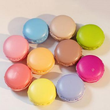 New 1PCS Candy Color Cell Phone Strap Hot Bag Hanger Cute Soft Macaron Key Chain Fruit Squishy Charms Bag Parts & Accessories