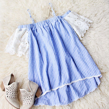 Flax & Stripe Top