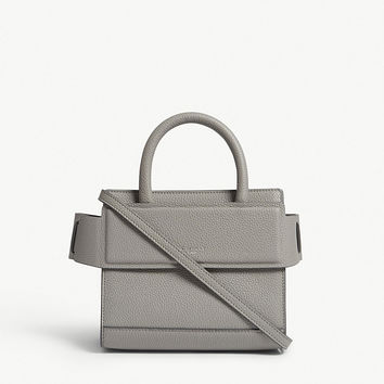 GIVENCHY Horizon nano grained leather shoulder bag