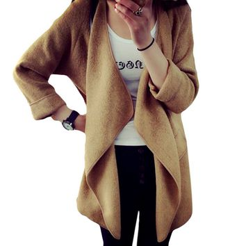 Knitted Cashmere Cardigan Sweater