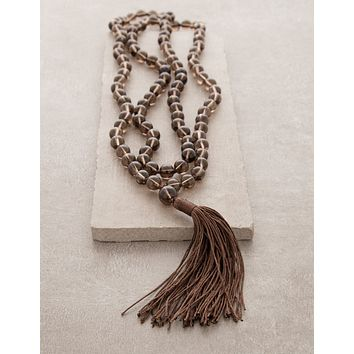 High-Energy Smoky Quartz Mala