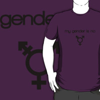my gender is no by TobyAddisonArt