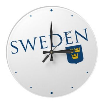 Sweden and Crest Clock