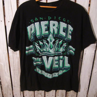 Pierce the Veil T-Shirt Size XL, San Diego California
