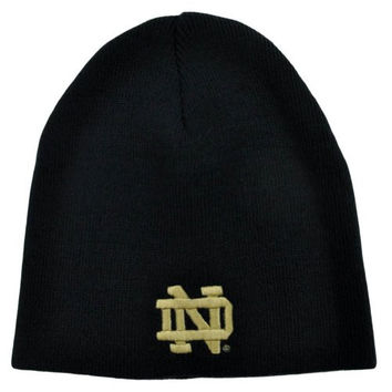 NCAA Notre Dame Fighting Irish Top of the World Toque Knit Beanie Cuffless Hat