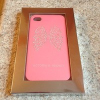 Brand NEW Victoria Secret iPhone 4 & 4S Case With Angel Wings