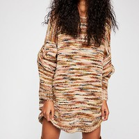 Loop Boucle Tunic Pullover Sweater
