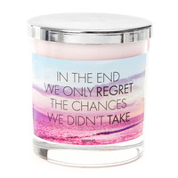 We Only Regret the Chances We Didn't Take Spring Scented Candle