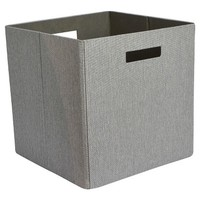 Threshold Decorative Fabric Cube Storage Bin - Assorted Colors