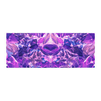 "Ebi Emporium ""Enchanted Forest 8"" Purple Pink Bed Runner"