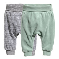 H&M 2-pack Cotton Pants $14.99