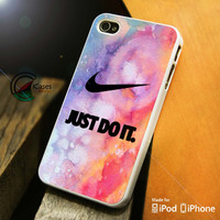 Nike Just Do it glitter iPhone 4 5 5c 6 Plus Case, Samsung Galaxy S3 S4 S5 Note 3 4 Case, iPod 4 5 Case, HtC One M7 M8 and Nexus Case