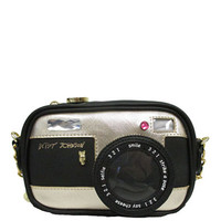 Betsey Johnson Camera Crossbody Bag