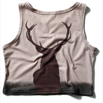 Yoga Crop Top // THE DEER