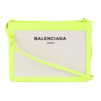 BALENCIAGA | Navy Ligne Canvas Cross Body Bag | Womenswear | Browns Fashion
