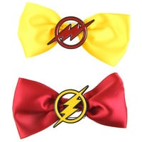 DC Comics The Flash Cosplay Hair Bow 2 Pack