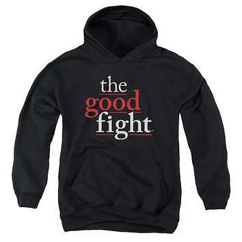 The Good Fight Kids Hoodie Logo Black Hoody