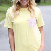High Tide Pocket Tee: The Maggie