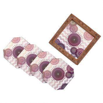 Monika Strigel Sweet Boho Dreams Coaster Set