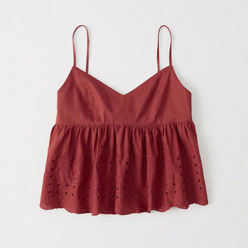 Womens Babydoll Cami | Womens New Arrivals | Abercrombie.com