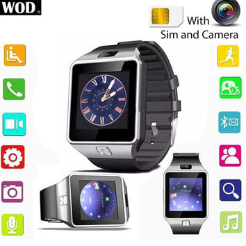 2016 Bluetooth Smart Watch Mate GSM SIM Card For Android iPhone Samsung Huawei