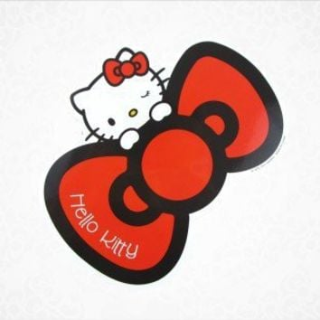 shop.sanrio.com - Hello Kitty Car Magnet: Red Bow