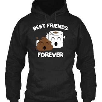 Best Friends Forever - Poop Emoji
