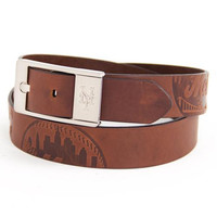 New York Mets MLB Brandish Leather Belt Size 40
