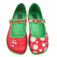 Hot Chocolate Design Chocolaticas Moosh Women's Mary Jane Flat Multicoloured US Size: 6