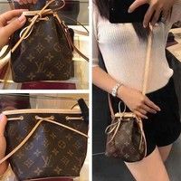 Louis Vuitton Fashion Women Leather Crossbody Satchel Shoulder Bag