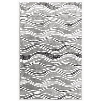 Trans Ocean Luna Waves Area Rug