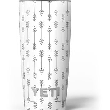 Vertical Acsending Arrows Yeti Rambler Skin Kit