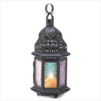 Magic Rainbow Candle Lantern  14119 - Jars & Holders