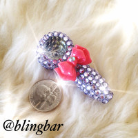 Itty Bitty Bling Pipe Lavender