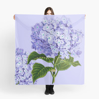 Soft Purple Hydrangea by Greenbaby