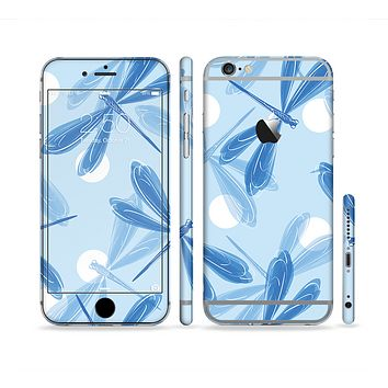 The Blue DragonFly Sectioned Skin Series for the Apple iPhone 6 Plus